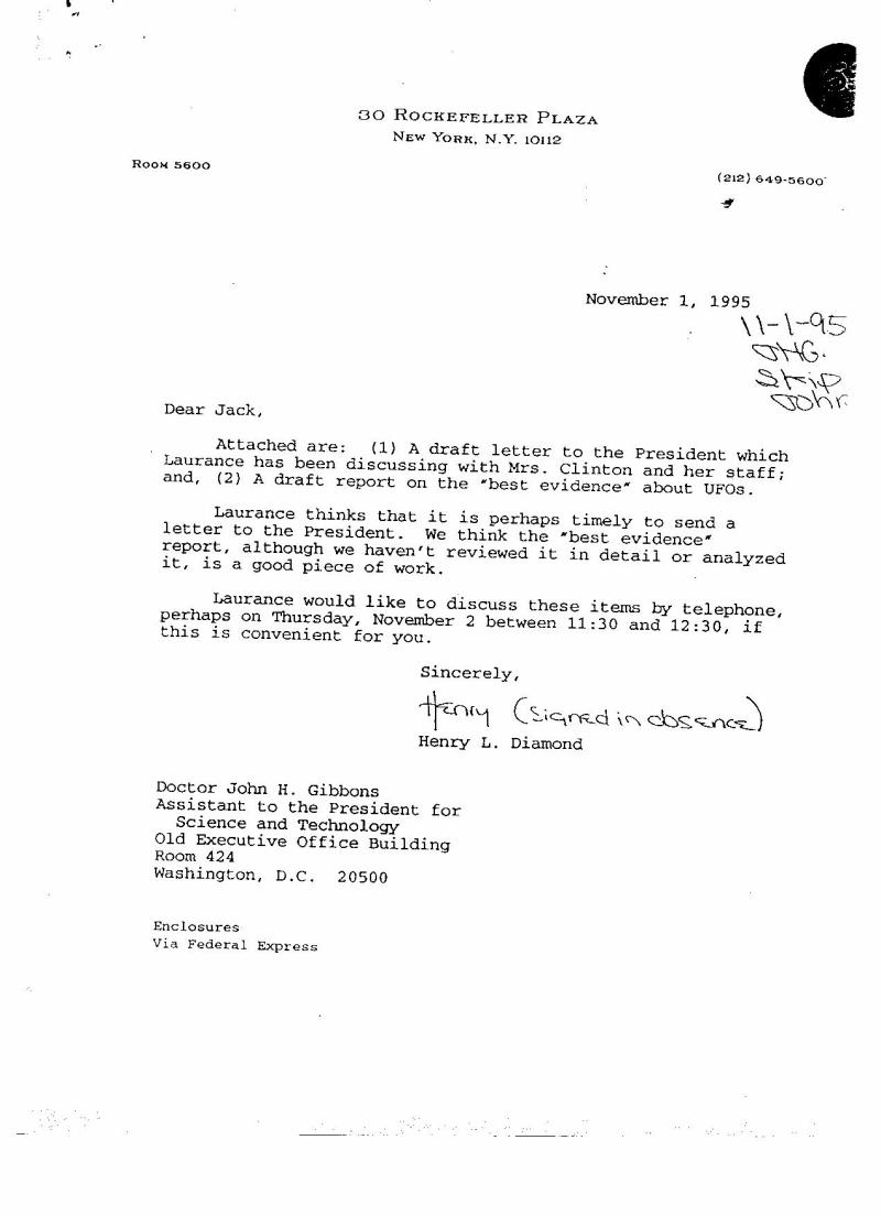 Carta Rockefeller
