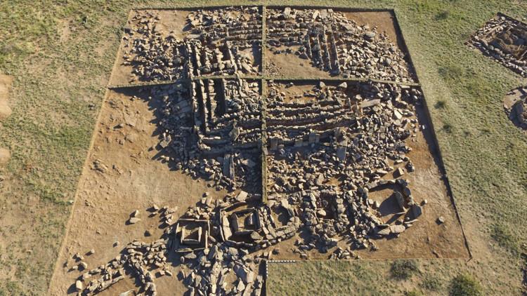 Pirámide más antigua en Kazajistan