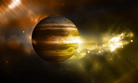 Revelan enigmática imagen de Júpiter