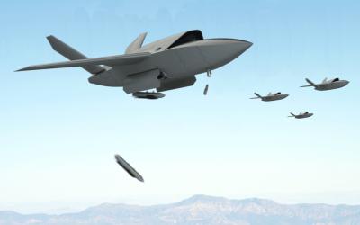 Presentan nuevo Drone Bombardero de bajo costo