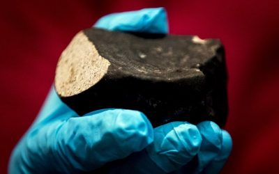 Recuperan misterioso meteorito de 4,500 millones de años
