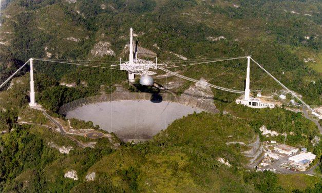 Captan Misteriosas Señales del Espacio en el Observatorio de Arecibo