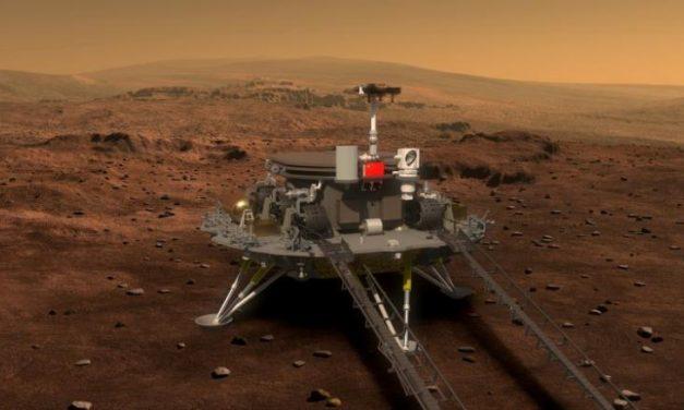 China llegará a Marte en el 2020