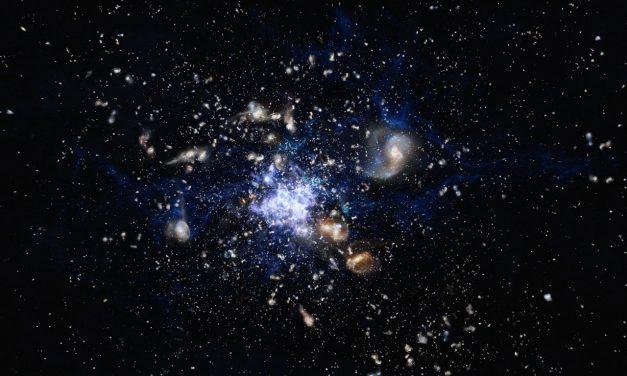 Descubren una de las Estructuras más grandes del Universo
