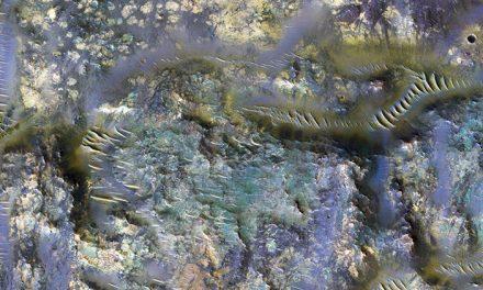Captan otro misterioso fenómeno en la Superficie de Marte