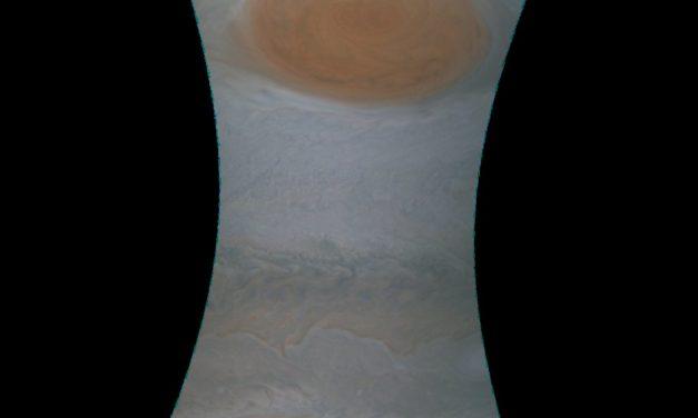 Publican imágenes inéditas de la Gran Mancha Roja en Júpiter