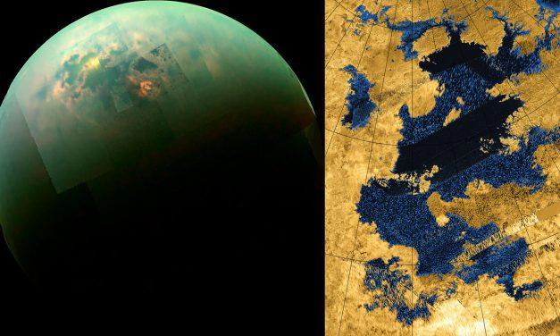 La Luna de Saturno Titán posee los ingredientes básicos para la Vida