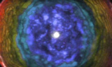 Astrónomos captan una Burbuja gigante en el Espacio