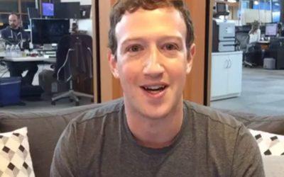 Internautas acusan que Mark Zuckerberg no es humano