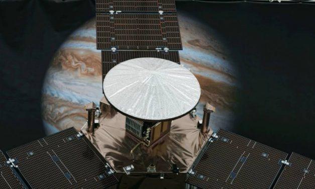 La sonda espacial Juno cambió su Trayectoria de forma Autónoma