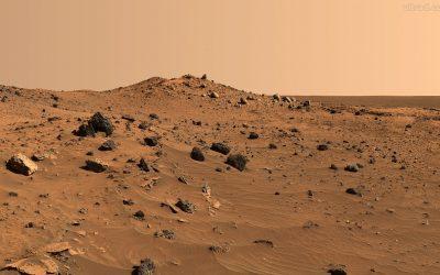 La Agencia Espacial Europea capta inusual Fotografía de Marte