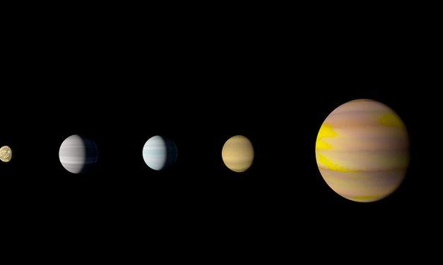 Descubren sistema solar parecido al Nuestro