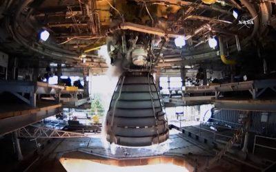 NASA prueba el Motor más potente de los EUA
