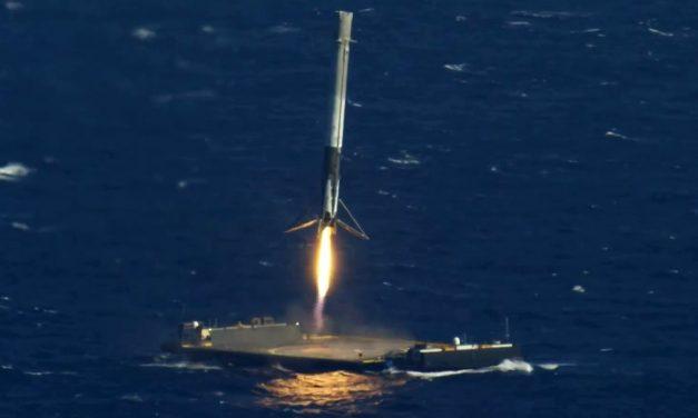 SpaceX explora nuevas formas de Aterrizar Cohetes