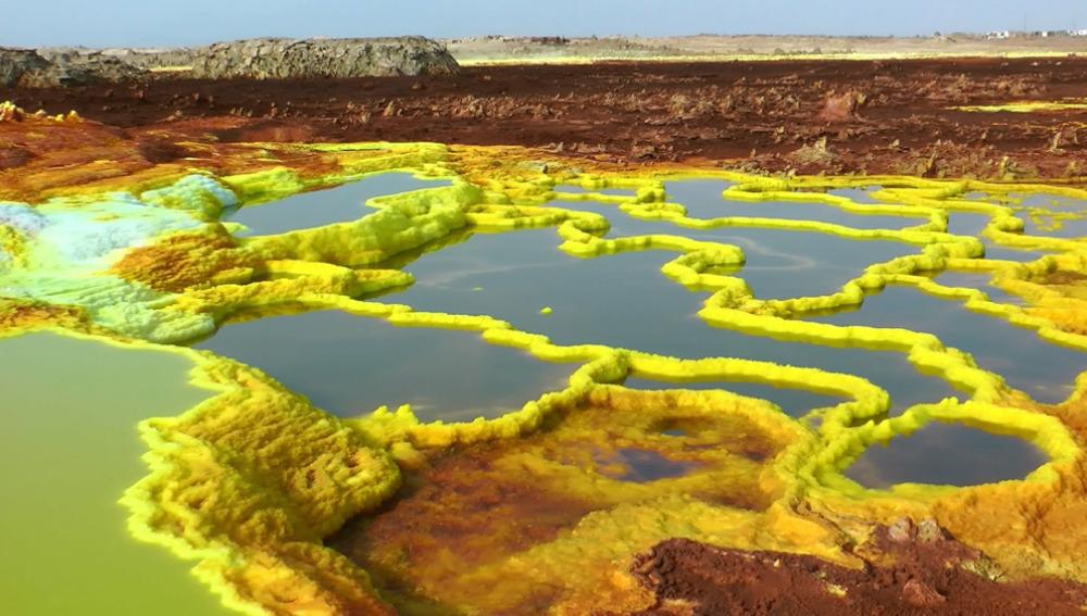 """Resultado de imagen de complejo geotérmico de Dallol"""""""